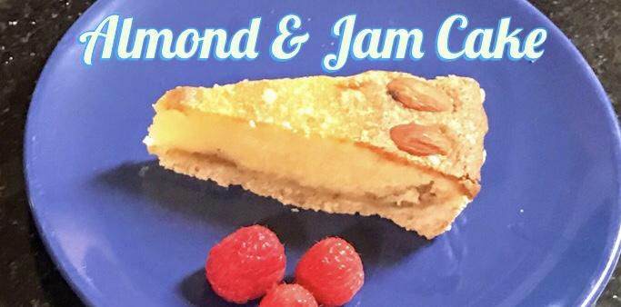 Recipe: Almond & Jam Cake